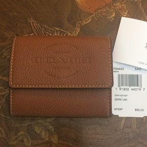Coach wallet with card slots